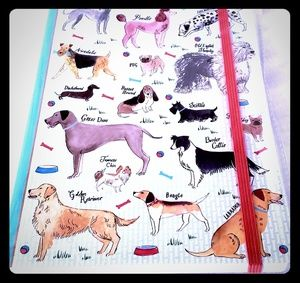 Brand New Doggie Notebook